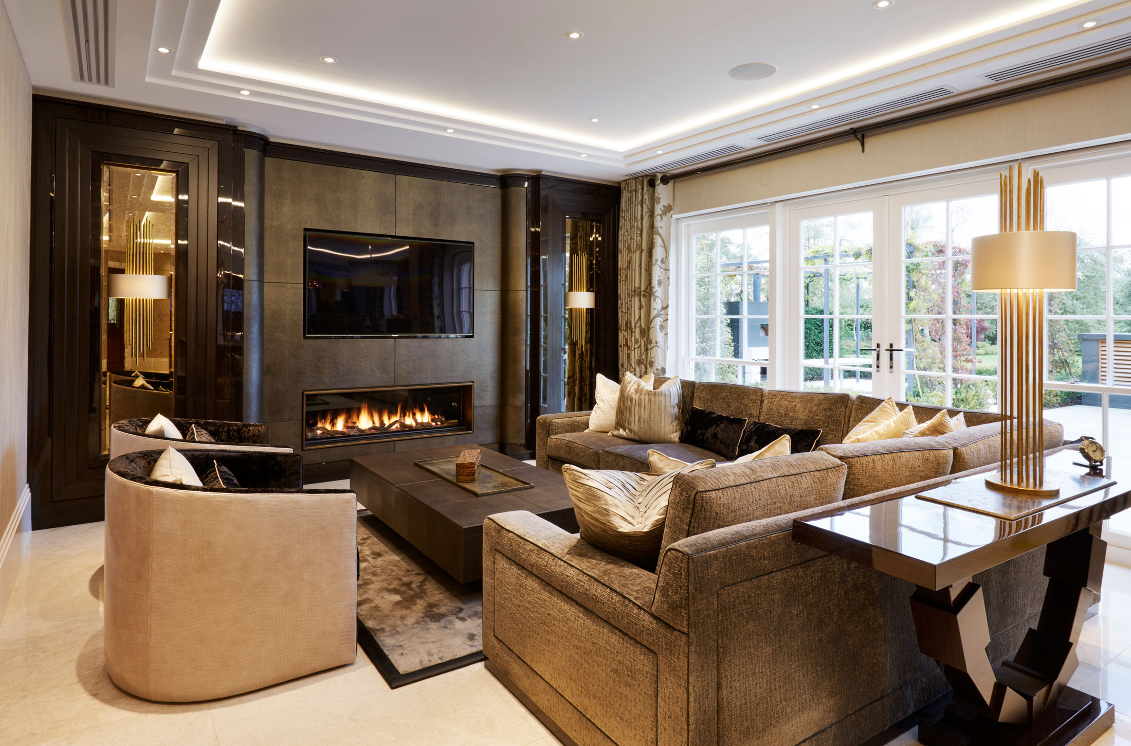 bespoke design interior london residence family room
