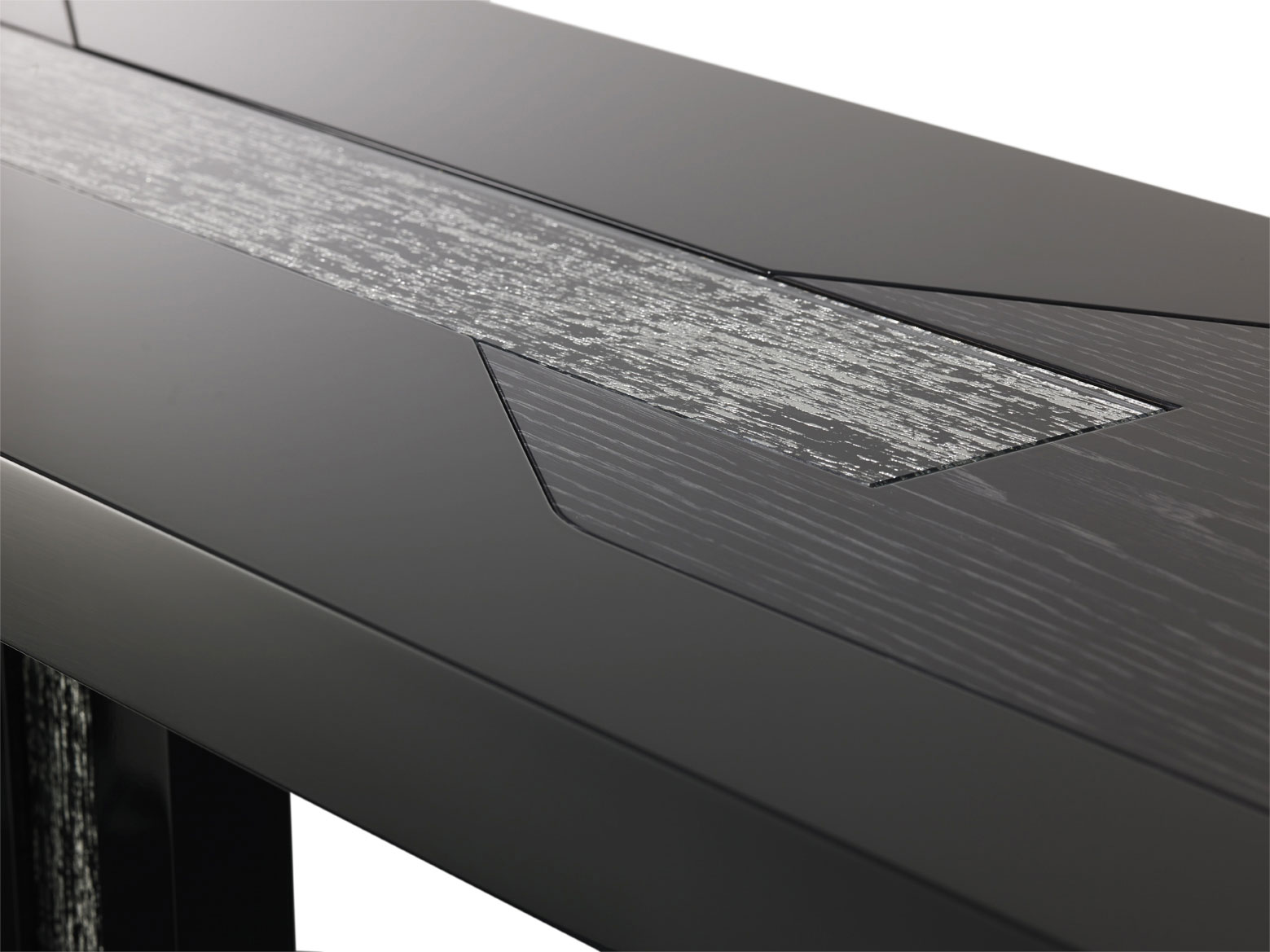 nero collection bespoke console table design detail
